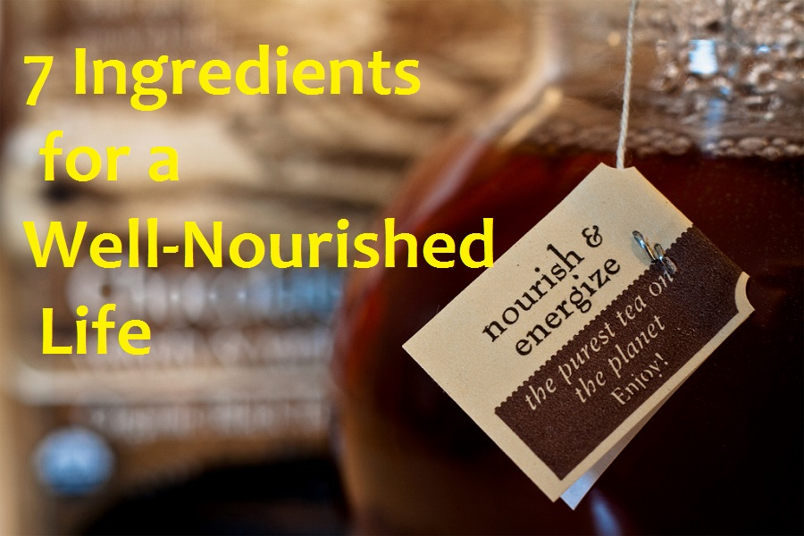 7 Ingredients for a Well-Nourished Life